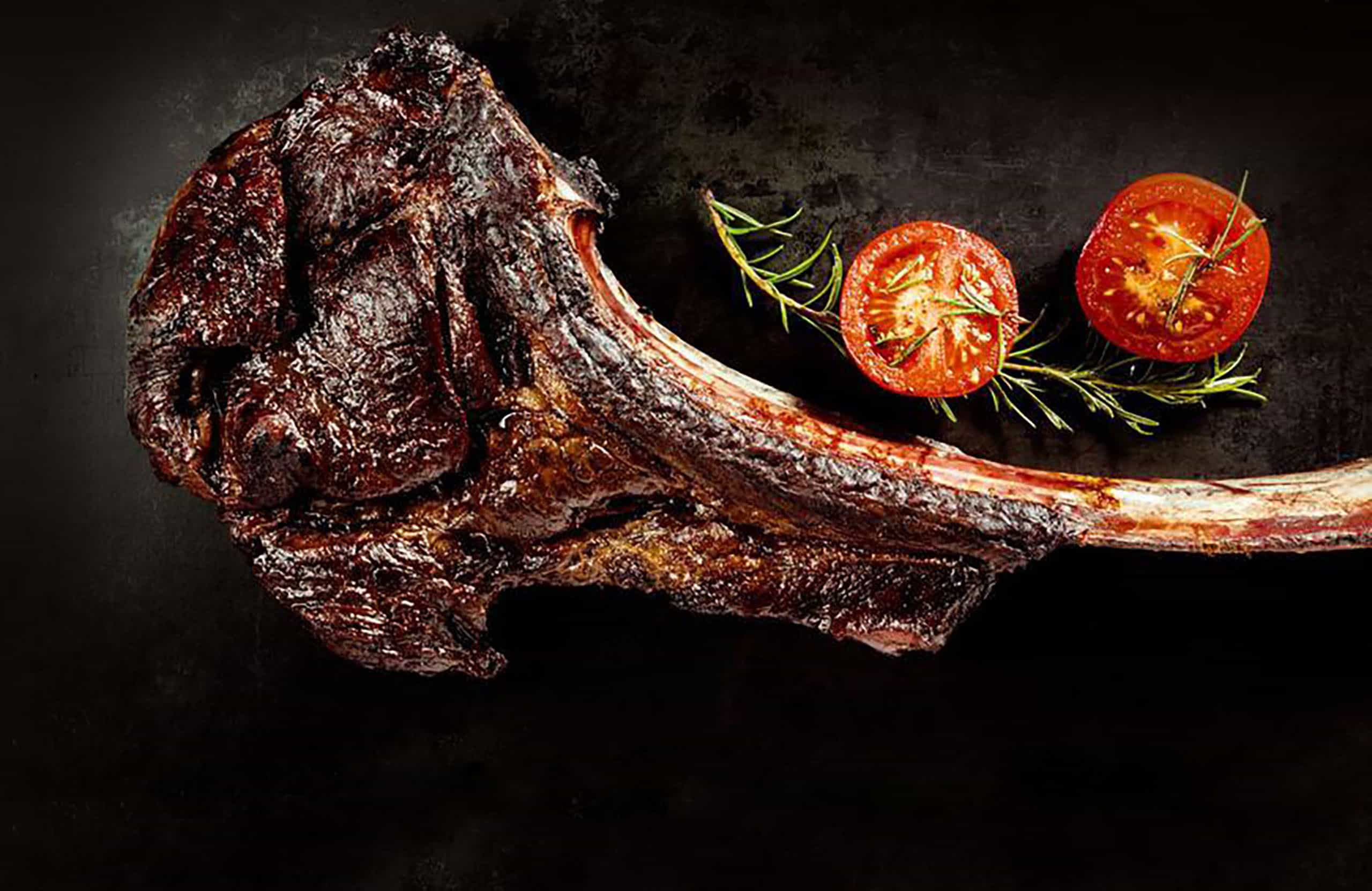 Top Quality Meat grilled tomahawk steak